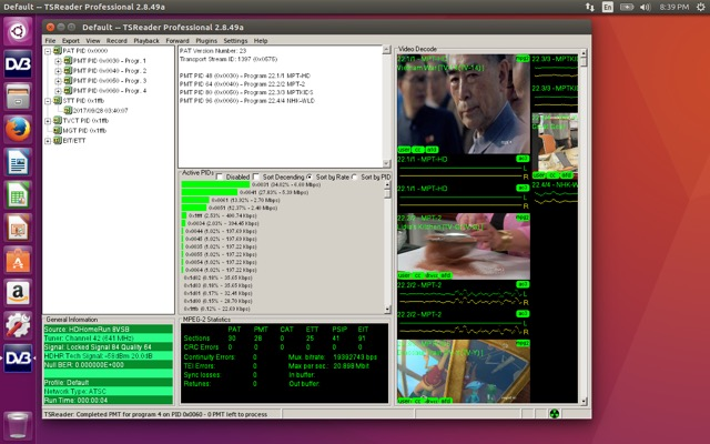 TSReader on Linux & MacOS via Wine